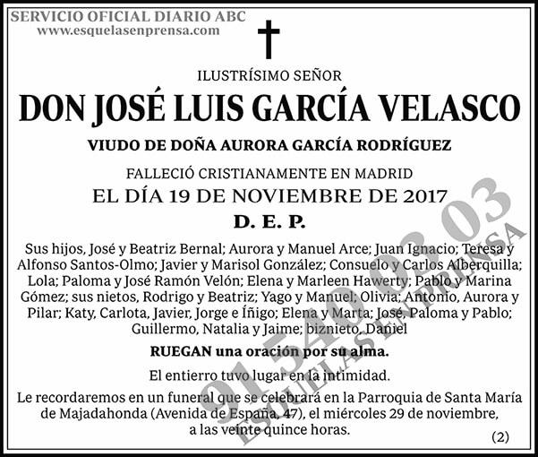José Luis García Velasco